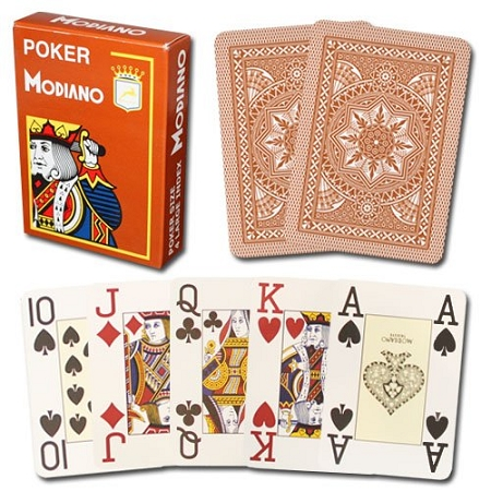 Poker cards modiano