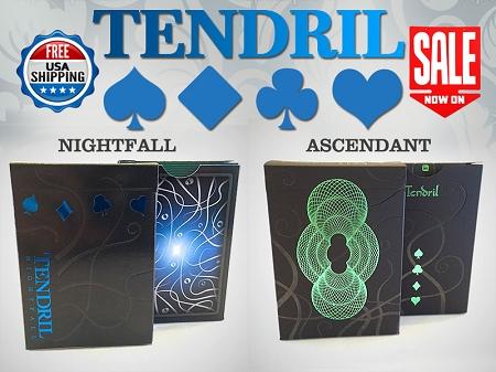 Tendril Ascendant & Nightfall Playing Cards Set Brand new