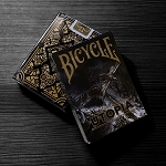 Bicycle Utopia Black and Gold Playing Cards Deck